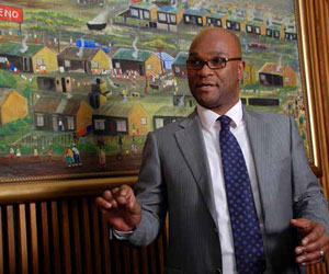 Minister of Arts and Culture Nathi Mthethwa.