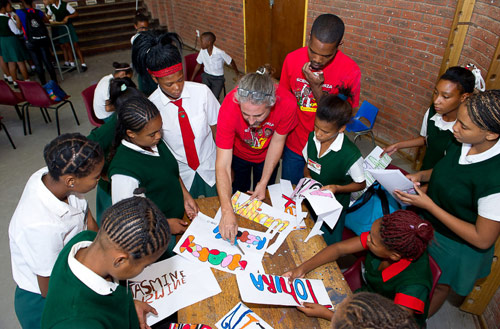 The SKA encourages education in science and mathematics through various school outreach and university bursary programmes.
