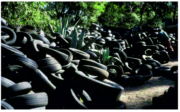 Every year more than 200 000 tons of tyres in the country become waste. Government is tackling this growing problem through new regulations.