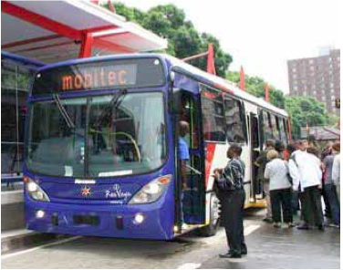 City of Johannesburg's Rea Vaya bus service has made travelling a pleasure for commuters.