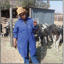 Sister Priscilla Katase, who runs a dairy farm in Frankfort Savage, in the Free State, has taken it upon herself to create jobs for the local youth and teach them about farming.