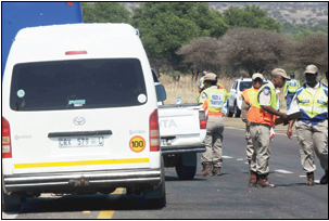 Traffic authorities are promising more roadblocks, stop and goes, traffic monitoring and harsher penalties as part of the 365 Days of Road Safety Programme.