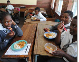 The national School Nutrition Programme ensures that learners across the country no longer attend school on empty stomachs.