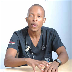 Vuyane Mhlomi's dream of becoming a doctor and helping South Africans came true with the help of the National Student Financial Aid Scheme (NSFAS).