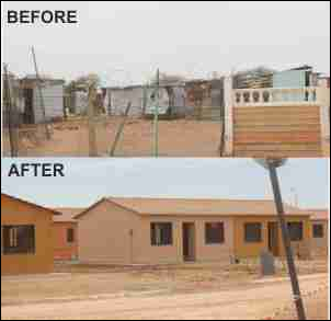 About 500 Northern Cape families will enjoy the comfort of their own home thanks to Department of Human Settlement's Lerato Park development.