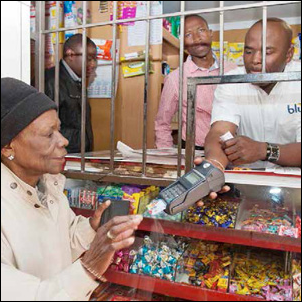 Buying groceries means simply swiping a card, thanks to the new SASSA smart card which is improving the lives of grant beneficiaries across the country.