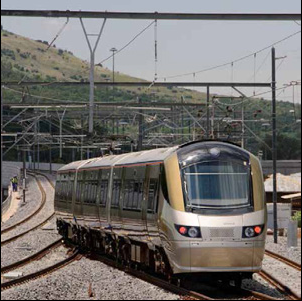 The Gautrain is South Africa's first world-class, modern rapid rail system transporting passengers between OR Tambo International Airport, Johannesburg and Pretoria.