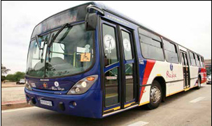 Rea Vaya buses travel between the Johannesburg CBD and Soweto, with new routes on the cards for Alexandra.