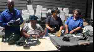 Women fight poverty with shoe-making skills | Vuk'uzenzele