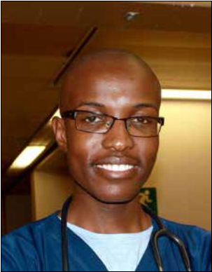 Dr Sandile Kubheka, 20, is the youngest doctor in South Africa.