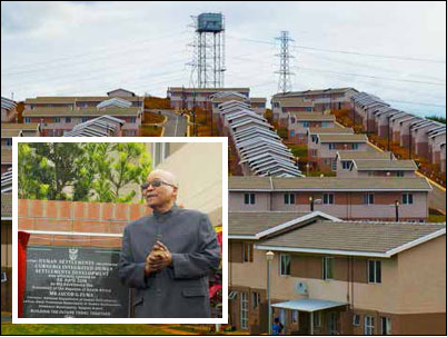 President Jacob Zuma officially opens the Cornubia Integrated Human Settlements Development Project in KwaZulu-Natal, which will ultimately have 28 000 mixed-income homes.