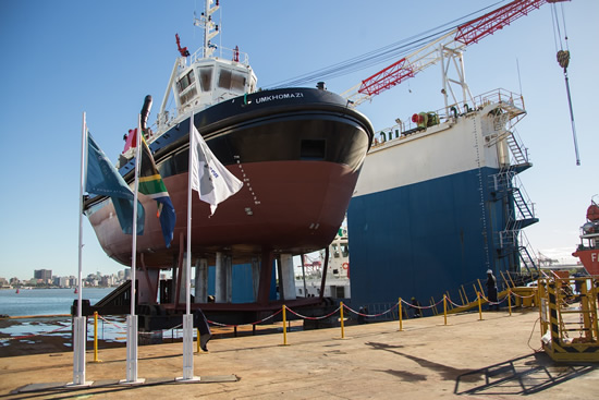 Transnet's uMkhomazi is the eighth tug and will serve at the Port of Durban.