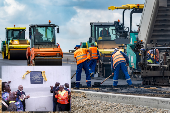 Dumisani Makhaye Drive is the biggest road infrastructure development in the country in five years.