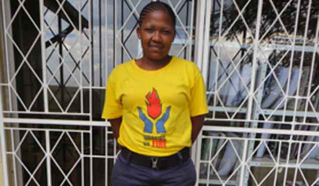 Maleeto Mabe has received a second chance in life thanks to the Working on Fire programme.