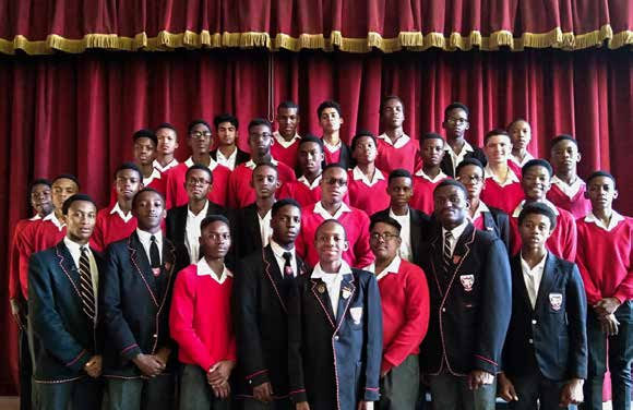 Pupils at Bracken High School in Alberton, Gauteng have pledged to be men who protect women.