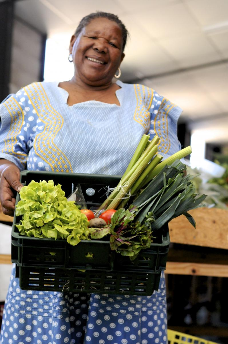 Tenjiwe Kaba feeds hundreds of people while teaching the community about the advantages of growing your own food.