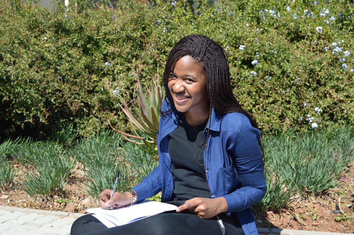 Nolwandle Charlotte Hadebe (18), a law student at the University of Witwatersrand, is grateful to have received assistance from the TRC education assistance programme to pursue her studies.