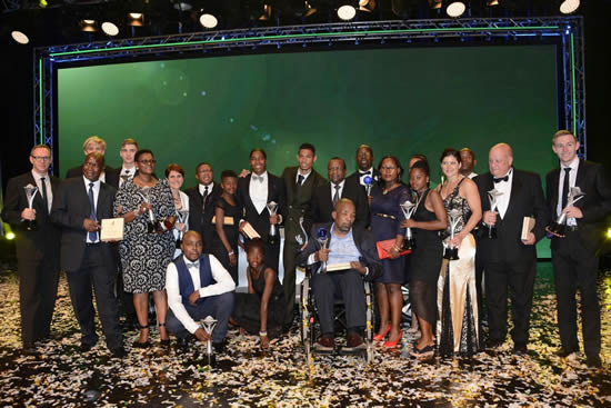 South Africa's sportsmen and women were awarded for their efforts at the South African Sports Awards